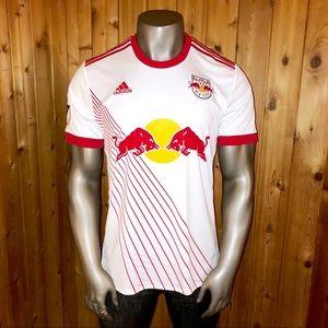 NWT! Adidas MLS New York Red Bulls Men's XL Jersey